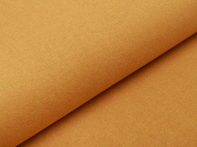 Glattes Bündchen im Schlauch Amy Swafing - uni gelb