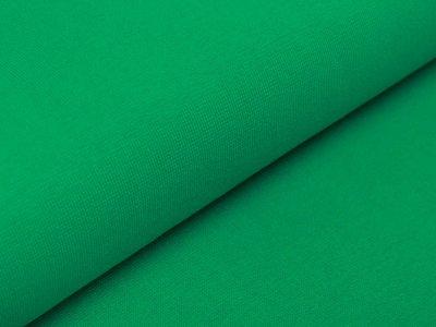 Glattes Bündchen im Schlauch Amy Swafing - uni grasgrün
