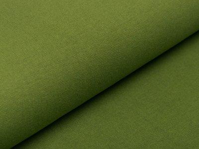 Glattes Bündchen im Schlauch Amy Swafing - uni moosgrün