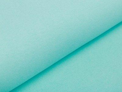 Glattes Bündchen im Schlauch Amy Swafing - uni aqua