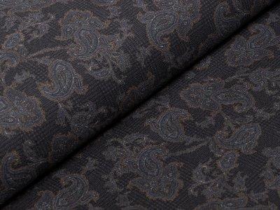 Elastischer Köper Jeansstoff bedruckt - Ornamente