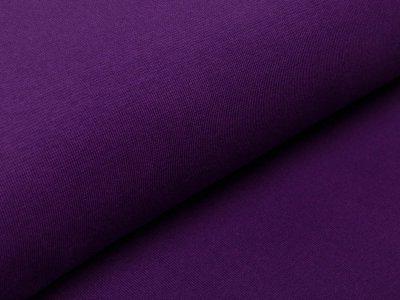Glattes Bündchen im Schlauch Amy Swafing - uni lila