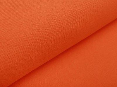Glattes Bündchen im Schlauch Amy Swafing - uni orange