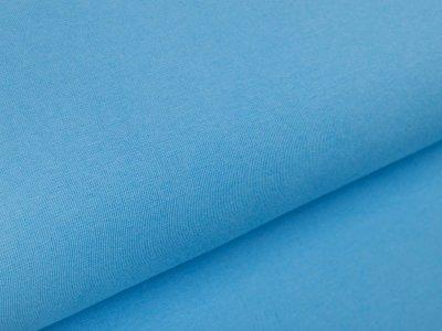 Glattes Bündchen im Schlauch Amy Swafing - uni helles blau