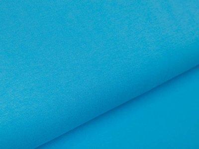 Glattes Bündchen im Schlauch Amy Swafing - uni türkisblau