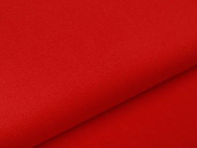 Glattes Bündchen im Schlauch Amy Swafing - uni rot