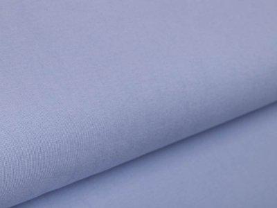 Glattes Bündchen im Schlauch Amy Swafing - uni babyblau