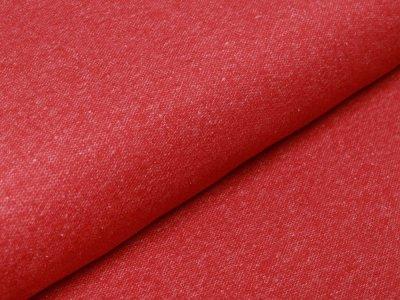 Angerauter Sweat - meliert rot