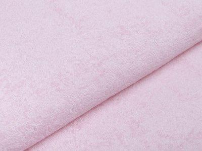 Französischer Doubleface Bambus Frottee Fleece - uni rosa