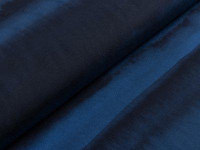 Jersey Swafing Franjo El Piranho by Thorsten Berger - verwaschene Streifen - nachtblau