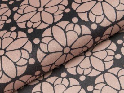 Velvet Swafing Pretty by Cherry Picking - Blumen - anthrazit