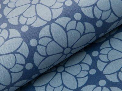 Velvet Swafing Pretty by Cherry Picking - Blumen - blau