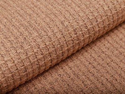 Strickstoff Baumwolle - meliert schlamm