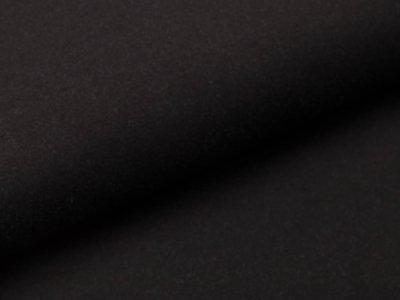 Sweat French Terry Jeans - uni schwarz