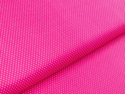 Webware Baumwolle - Punkte - pink