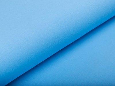 Leicht angerauter Sweat Swafing Eike - uni helles blau