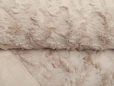 Zottel-Wellnessfleece Fur - uni beige