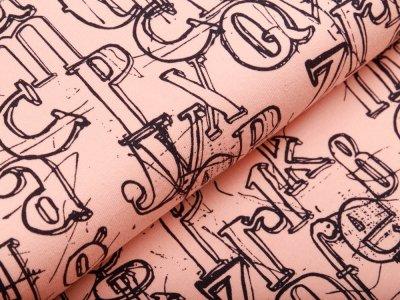 Sweat Avalana - Buchstaben - pfirsich