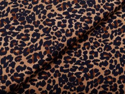 Jersey Avalana - Leopardenmuster - ocker