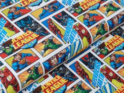 Webware Stenzo Marvel Adventures - Superhelden Comic - weiß