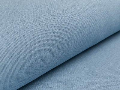 Strickstoff - uni - altblau
