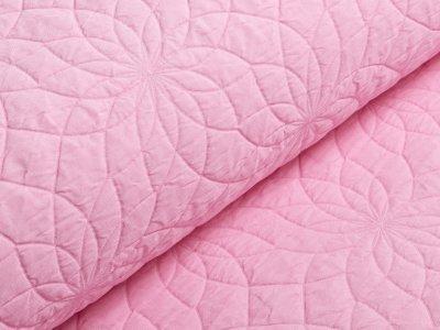 KDS Queen's Collection Webware Stepper - Blütenmandalas - rosa