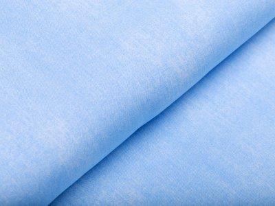 Jersey - Jeansoptik - helles blau
