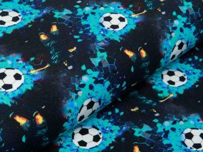 Jersey KATINOH - Fußbälle und Fußballspieler - schwarz