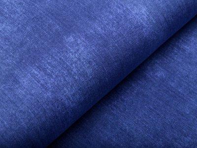Jersey - Jeansoptik - blau