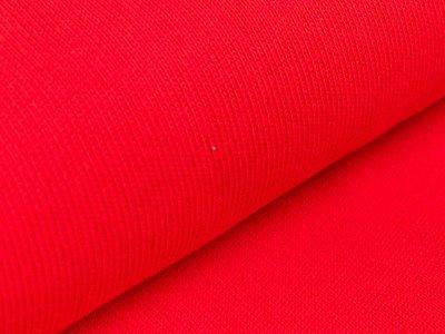 Strickstoff - uni - rot