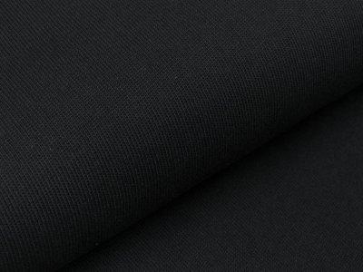 Strickstoff - uni - schwarz