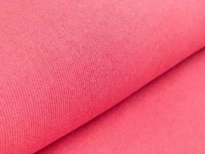 Strickstoff - uni - dunkles Rosa