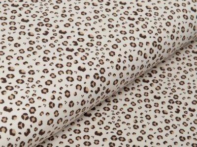 Jersey - Animalprint - beige