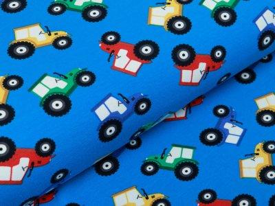 Jersey - verschiedene Traktoren - blau
