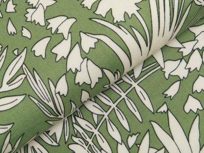 Webware Viskose - Farn - grün
