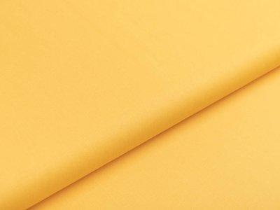 Webware Popeline Baumwolle - uni gelb
