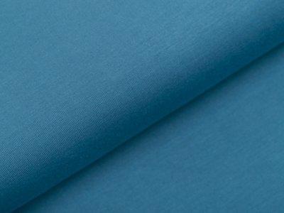 Bambus Sweat French Terry Strickstoff - uni graublau