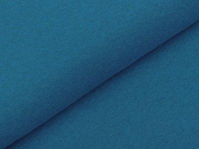 Glattes Bündchen im Schlauch Swafing Heike 95 cm - meliert blau