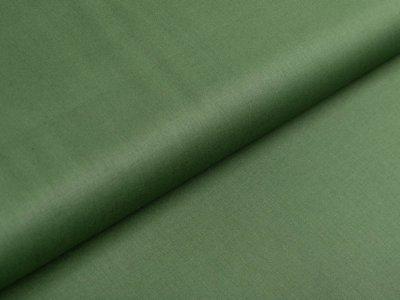Webware Popeline Baumwolle - uni waldgrün
