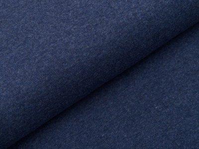 Glattes Bündchen im Schlauch Swafing Heike 95 cm - meliert dunkles blau