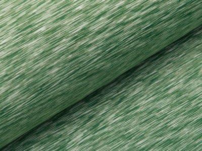 Softshell Jackenstoff - Kratzoptik - meliert grün