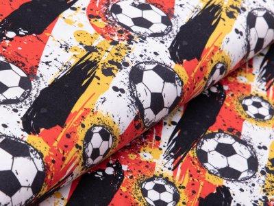 Jersey - Fußball - weiß/gelb