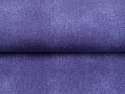 Sweat French Terry in Jeansoptik - uni lavendel