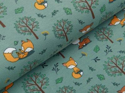 Jersey - Rehe und Füchse im Wald - altmint