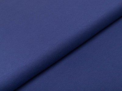 Interlock Avalana - uni jeansblau