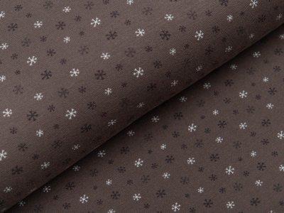 Jersey - kleine Schneeflocken - schlamm