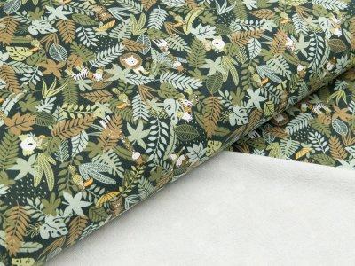 Viskose-Sweat Hilco - Jungle - grün Töne