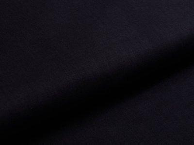 Webware Baumwolle - uni schwarz