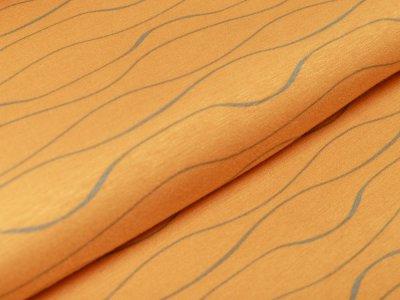 Alpenfleece - Wellen - ocker