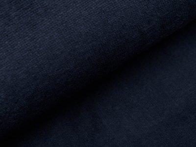 Bambus Fleece - uni nachtblau